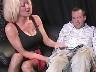 breasty blond mother i in wild oral-stimulation