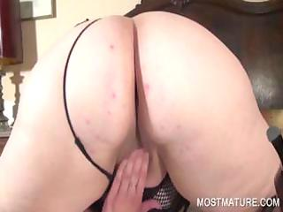 wicked aged satisfying lustful cunt