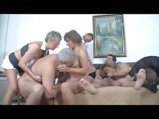 german aged swingers fuck party
