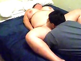 big beautiful woman wife licked