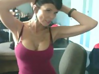 sexually excited mamma cheating on web camera