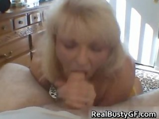 naughty mamma shows her juggs and sucks cock part9