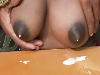 preggy indian mama shooting new milk