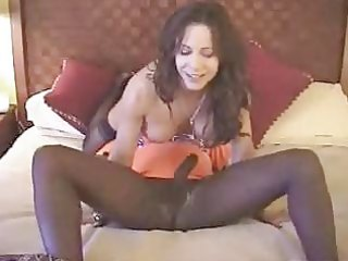 brunette hair white wife with dark paramour -