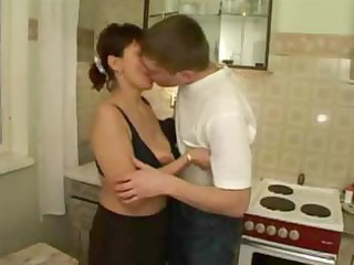 russian mama group-fucked by her sons allies