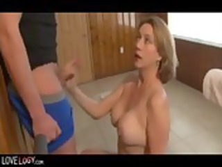 threesome excellent and awesome cumshots,