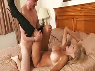 granny receives young penis into her...