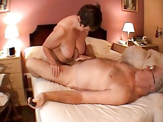 granny cook jerking massage