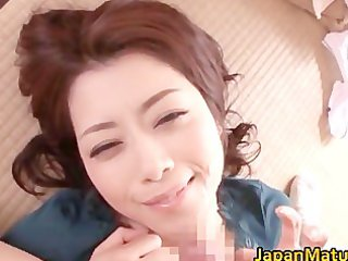 concupiscent japanese aged women engulfing part0