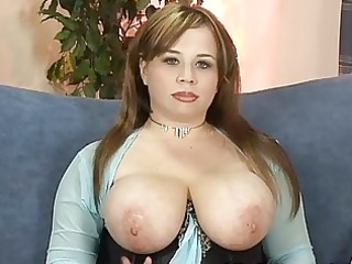 large breasted mother i chick disrobes and
