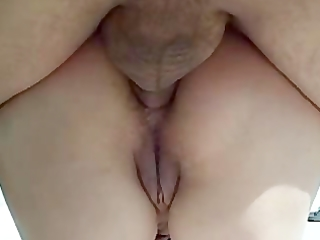 creampie anal to my wife