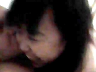 chinese mature hooker drilled with enjoyment by