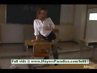 nagomi momono concupiscent oriental teacher at