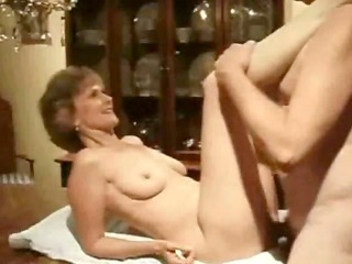 Mature Babe Table Fucked