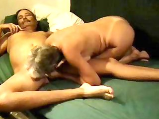 aged golden-haired nympho dilettante eats his rod