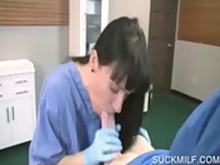 horny mom takes large jock in pov