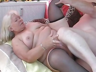 chubby non-professional wife sucks and copulates