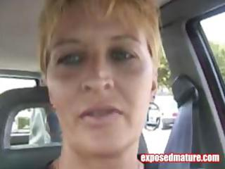 excited blond mother i is giving him a pov oral