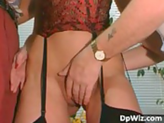 outstanding milf in nylons blows hard