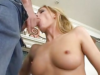 blond d like to fuck with bald camel toe receives