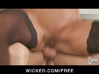 wicked - curvy golden-haired milf brittany andrew