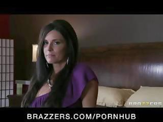 sexy brunette hair ex-wife mother i copulates her