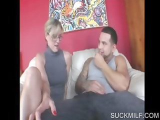 blond mother i sharing wang in threesome