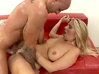 high pitch groans as wifes landing strip is