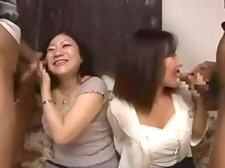 nasty asian mamma and her juvenile daughter