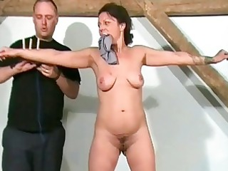 aged slaves sadistic workout and torture