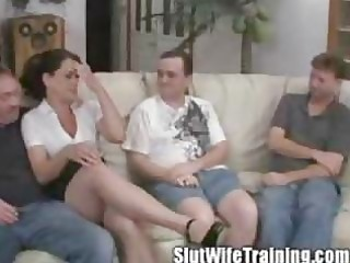 wife holly acquires banged on her training