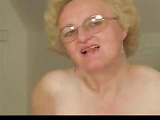granny in hose