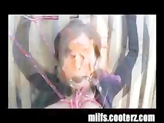 Milf bondaged and humiliated