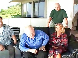 Cuckold Group Sex Gang Bang Delight with Wives