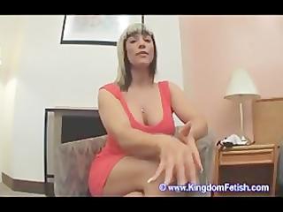 milf masturbation instruction chastity serf pov