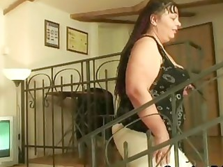 laughable studs group-sex older fatty