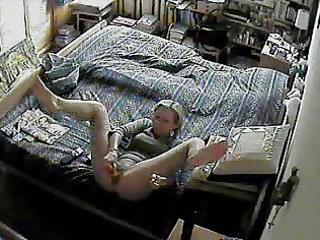 spy cam beneath wife