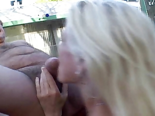 aged outdoor anal