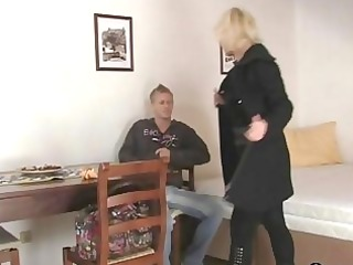 older blond takes it is from behind