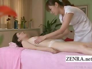 subtitled japanese mother i lesbian oil massage