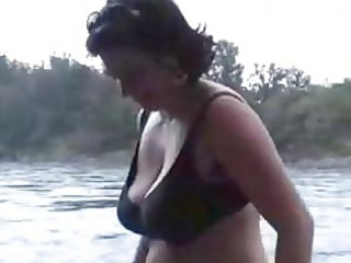 massive love melons aged outdoor flashing