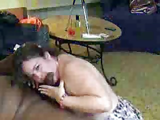 Chubby mom gets her freak on