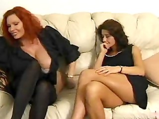 aged babes discuss sex and lick every other