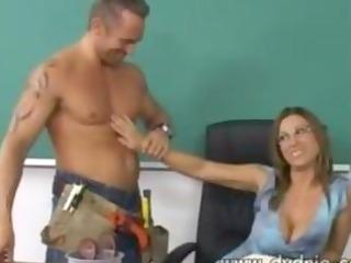 construction worker finds sexy teacher devon lee