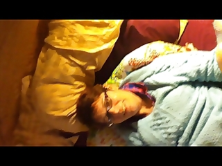 wife face fuck+masturbation whilst being called