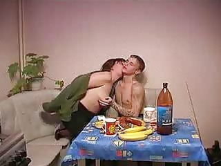 russian mother gets drilled