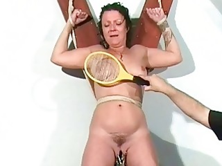 shaz fastened and electro torture of aged english