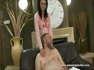 lascivious old lad bonks the trophy wife