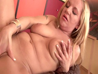 Hot MILF babe Emily masturbating