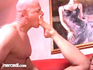 Kelly Leigh Freaks A Cock Blonde, Cumshot